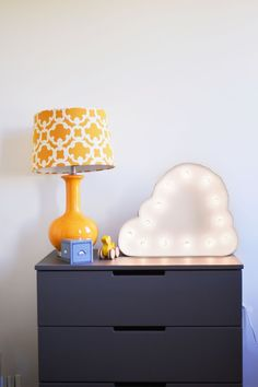 Use a cloud lamp to shed a little light.
