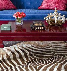 Zebra Interior Decorating Ideas | Shelterness