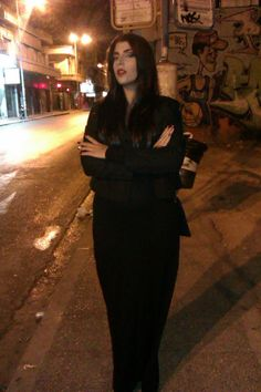 moritcia addams make up diy costume halloween makeup