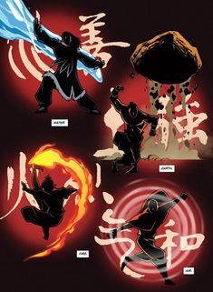 """""""Avatar: The Last Airbender"""" Story Continues #comicart"""