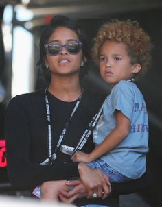 Helen & Pharrell's son Rocket Williams no way never knew he was a dad lol