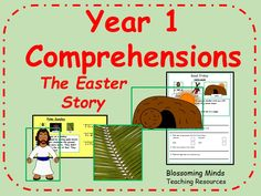 Year 1 Comprehension - Easter Story