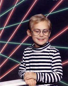 In late and early the Illustrated Laser Ray and futuristic grids aesthetic was a sensation, years before it began to diminish abruptly. Same Love, First Love, Family Portraits, Family Photos, Cool Laser, Boy Problems, Vintage Magazine, Picture Day, Thug Life