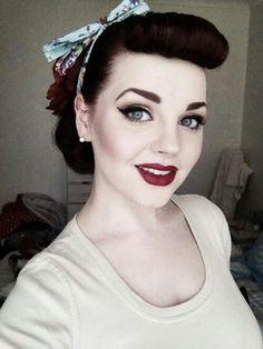 Fifties Hair And Makeup                                                                                                                                                                                 More