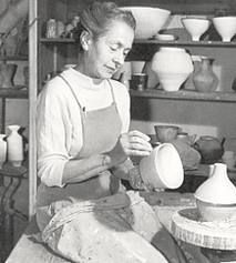 """Lucie Rie  """"Let the work come to your eyes"""""""