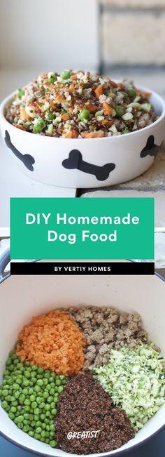 DIY Homemade Dog Food dog food recipes 7 Homemade Dog Food Recipes We Won't Tell Anyone You Ate Some Of Food Dog, Make Dog Food, Food Baby, Homemade Dog Treats, Healthy Dog Treats, Homemade Food For Dogs, Healthy Pets, Pet Treats, Healthy Food