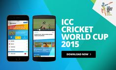 Free Download Official ICC Cricket World Cup 2015 App For iOS & Android. Be updated with instaling Official ICC Cricket World Cup 2015 App your smartphone