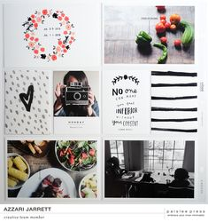 August Layouts with Paislee Press by Azzari Jarrett