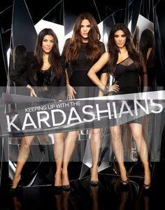 Follow sisters Kourtney, Kim & Khloé Kardashian in their hit reality show 'Keeping Up with the Kardashians' #Kardashian