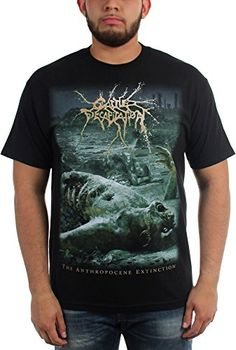Cattle Decapitation - Mens Anthropocene Extinction T-Shirt - Metal Music Gear HQ