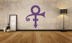 This Prince interior wall mural is the ultimate way to express your purple pride!    Perfect for your media rooms or wherever you want to