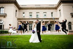 Gale Mansion Wedding Bridal Party
