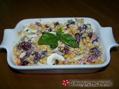 Σαλάτα φασόλια με τόνο #sintagespareas Acai Bowl, Salads, Healthy Eating, Chicken, Breakfast, Recipes, Food, Ideas, Acai Berry Bowl