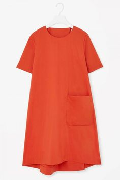 Cos Dress With Pleated Back, £59