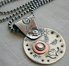 Anybody besides me that likes this? Riveted Jewelry