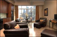 #Quad #Lofts, #Toronto Exposed Concrete, Polished Concrete, Concrete Ceiling, Concrete Floors, Hunter Douglas Blinds, Juliette Balcony, Floor To Ceiling Windows, Glass Shower, Lofts