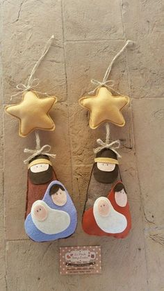 Go to the webpage to learn more about DIY Christmas Projects Nativity Ornaments, Nativity Crafts, Felt Christmas Ornaments, Christmas Nativity, Christmas Projects, Felt Crafts, Holiday Crafts, Diy Crafts, Handmade Christmas Decorations