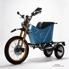 Nuevo triciclo eléctrico con capacidades asombrosas