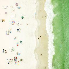line up, antoine rose // beach photography