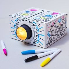 White Smartphone Projector