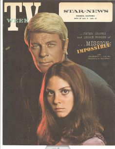 Really this is a Peter Graves appreciation post. But I was just looking at a couple of photos of Peter Graves with Lesley . Golden Age Of Hollywood, Classic Hollywood, Mission Impossible Tv, Lynda Day George, Sherman Brothers, Peter Graves, Leslie Ann, Barbara Eden, Old Movie Posters