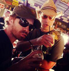 Seth Green & Nathan Fillion.