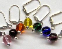 Crochet Stitch Markers, Knitting Stitch Markers, Removable Rainbow Set of 7
