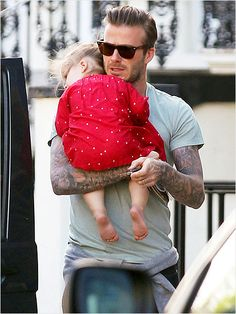 David Beckham and Harper's Cutest Daddy-Daughter Moments - iVillage