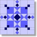 Quilt Blocks of the States - Maryland - Quilting