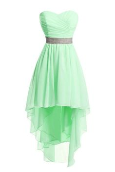 Chengzhong Sun Women High Low Lace Up Prom Party Homecoming Dresses ** See this great product. (This is an affiliate link and I receive a commission for the sales) Cute Prom Dresses, Grad Dresses, Dance Dresses, Homecoming Dresses, Pretty Dresses, Beautiful Dresses, High Low Dresses Casual, Strapless Prom Dresses, 1950s Dresses
