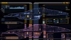 Star Trek Online's upcoming expansion firmly puts the focus on Star Trek: Voyager. Alongside returning to the Delta Quadrant, the Art team have had to tweak the ship's LCARS cutaway schematics to better suit their needs - giving us our best ever look at the inner workings of the Federation's finest Intrepid-Class ship.