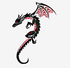 dragon tattoo designs for women | Simple Dragon Tattoos For Women