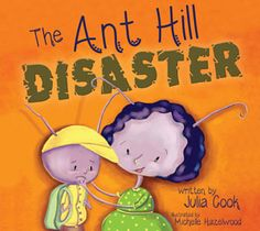 Julia Cook's latest book to help children cope with disasters, natural or man-made.  www.juliacookonline.com