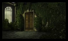 Over the Garden Wall background art