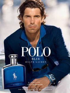 Polo Blue Eau de Parfum by Ralph Lauren is a Woody Aromatic fragrance for men. This is a new fragrance. Polo Blue Eau de Parfum was launched in Th. Ralph Lauren Polo Blue, Ralph Lauren Shop, Perfumes Ralph Lauren, Anuncio Perfume, Nacho Figueras, Best Perfume For Men, Perfume Jpop, Macho Alfa, Celebrity Perfume