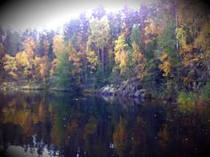 Autumn is Beautiful. I like. Asikkala, Finland.