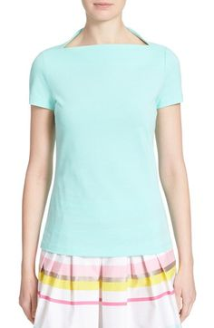 kate spade new york boat neck tee available at #Nordstrom