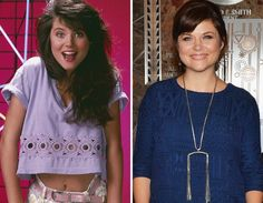 In the 8th grade I got an autograph from Tiffani Thiessen (Sp/A) when the cast from Saved by the Ball was at Plaza Bonita Mall in San Diego, California.