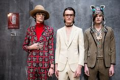 Asia Werbel goes backstage to capture the Gucci atmosphere.