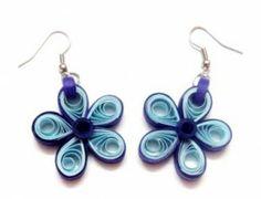 Quilled Flower Earrings