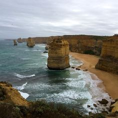 Situated off Port Campbell National Park about four hours south of #Melbourne lie the Twelve Apostles. The apostles were originally part of the cliffs which gradually became caves then arches and finally the stacks you see today after the harsh conditions of the surrounding Southern Ocean eroded the limestone.  The weather that day was absolutely insane! We experienced full sun rain wind and overcast skies within only a couple of hours. It could have been a downpour and it still would have…