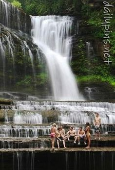 Cummins Falls  -- Cookeville, Tn.