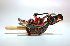 Thunderbird Rattle by Joseph (Joe) R. Wilson, Kwakwaka'wakw artist (W80602)