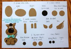 Julie Kettlewell - Stampin Up UK Independent Demonstrator - Order products 24/7: Punch Art Doggy!