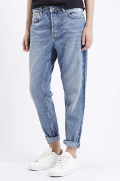 Photo 2 of MOTO Blue Hayden Boyfriend Jeans