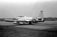 RNLAF Lockheed T33 Eindhoven/Welschap 21-10-1969