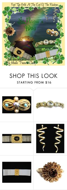 """""""Find The Gold At The End Of The Rainbow"""" by heidi-calamia-galati ❤ liked on Polyvore featuring Avon"""
