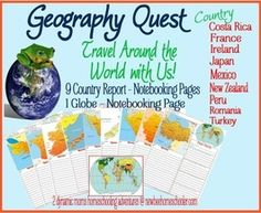Geography, Country Studies & Timelines