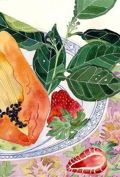 strawberries by Mango Frooty, via Flickr