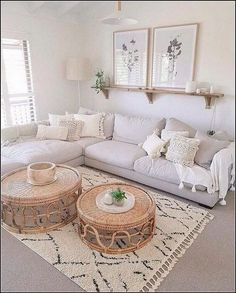 51 Simple living room design in country house style - living room decor - 51 Simple . 51 Simple living room design in country house style – Living room decor – 51 Simple living room Boho Living Room, Interior Design Living Room, Home And Living, Living Room Designs, Modern Living, Simple Living Room Decor, Bohemian Living, Living Room With Carpet, Minimalist Living Rooms